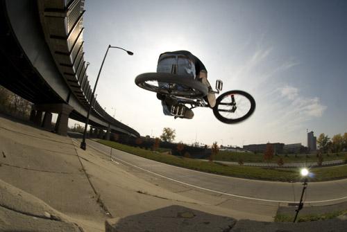 Phil Wasson curb jump to flattie
